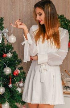Lola Lady sukienka biała