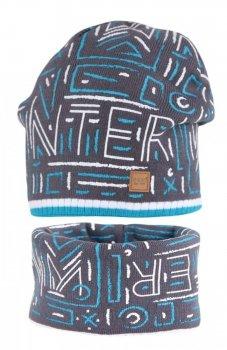 Agbo 1701 Leonard czapka i komin dla chłopca
