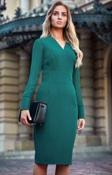 Style S136 sukienka zielona