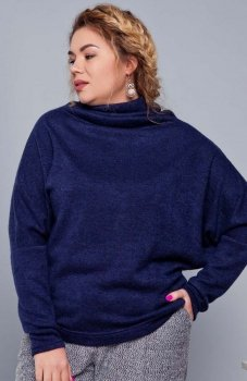 Cover TR1667 sweter niebieski