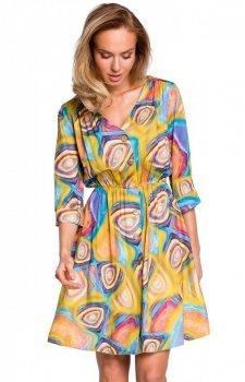 Kolorowa sukienka M440/2