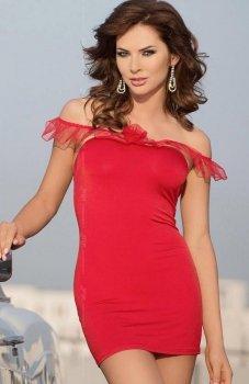 Softline Adeline koszulka czerwona
