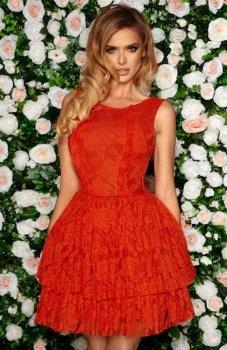 Bicotone 2140-02 sukienka czerwona