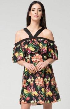 Mosali M031 sukienka kwiaty