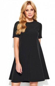 *Makadamia M440 sukienka czarna