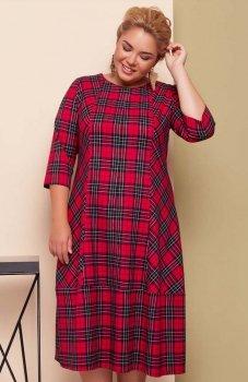 Cover TR1619 sukienka czerwona