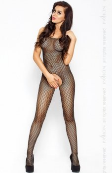 Passion BS010 bodystocking czarne