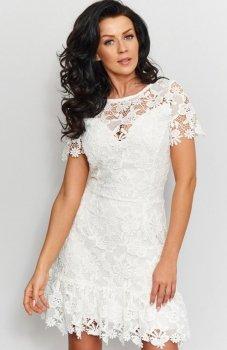 Roco 0200 sukienka ecru