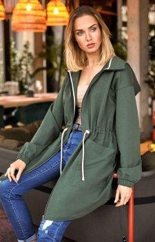 Bluza parka z kapturem M416 khaki