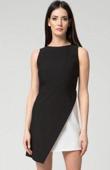 Mosali M033 sukienka czarna