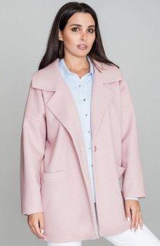 Figl M590 płaszcz różowy