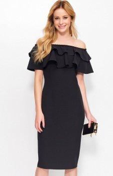Makadamia M403 sukienka czarna