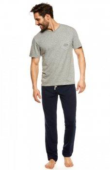 Henderson Upon 36829-90X piżama szaro-granatowa