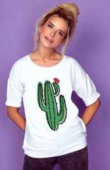 Knits K174 bluzka z kaktusem