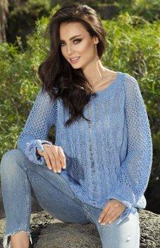 Lemoniade LS201 sweter szafirowy