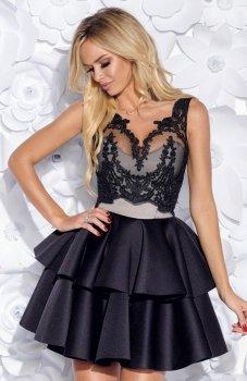 Bicotone 2154-06 sukienka czarna