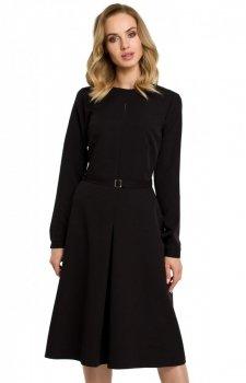 Sukienka M398 czarna Moe