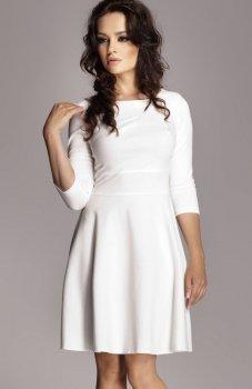 *Figl M081 sukienka ecru