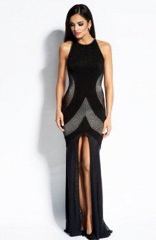 Dursi Michelle sukienka srebrna