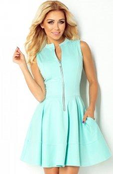 *Numoco 123-7 sukienka miętowa
