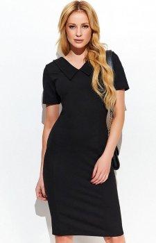 Makadamia M411 sukienka czarna