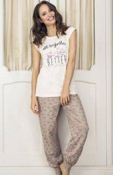 Esotiq Dumi 33539-02X piżama łososiowa