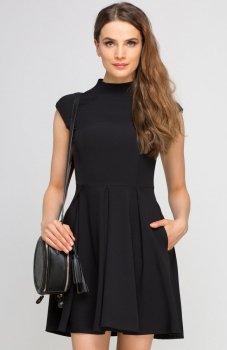 Lanti SUK143 sukienka czarna