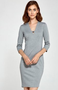 Nife S92 sukienka szara