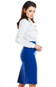 Spódnica Awama niebieska A255