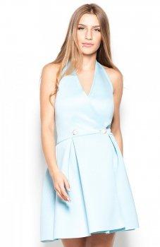 Katrus K386 sukienka niebieska