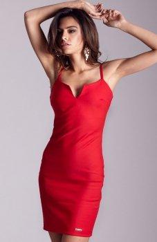 Ivon Cindy sukienka czerwona
