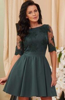 *Roco 0084 sukienka zielona