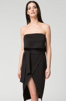 Mosali M034 sukienka czarna
