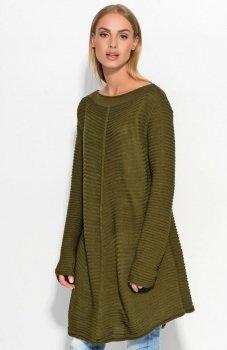 Makadamia S45 sweter khaki