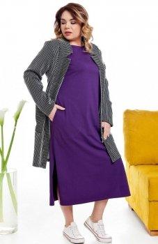 Cover TR2014 sukienka fioletowa