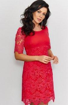 Roco 0204 sukienka czerwona