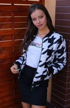Roco 0010 kurtka czarno biała