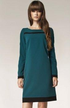 *Nife S40 sukienka zielona