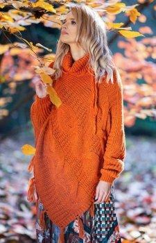 Fobya F601 poncho pomarańczowe