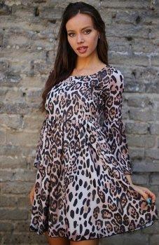*Roco 0216 sukienka panterka