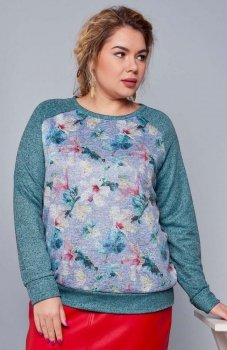 Cover TR1746 sweter niebieski