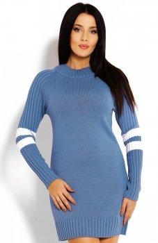 PeekaBoo 70011 tunika sweterkowa niebieska