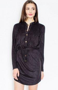Figl M454 sukienka czarny