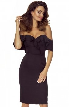 Bergamo Cleo sukienka czarna