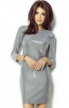 Ivon Cleo sukienka srebrna