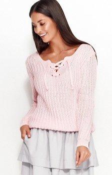 *Numinou NU_S28 sweter różowy