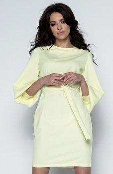 Fobya F495 sukienka żółta