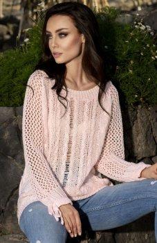 Lemoniade LS201 sweter pudrowy róż