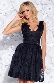 Bicotone 2153-06 sukienka czarna