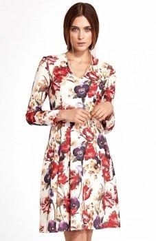 Nife S109KW sukienka w kwiaty